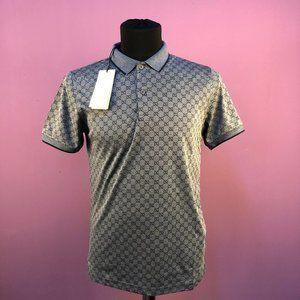 """Gucci Men Monogram Polo Shirt """"XXL"""""""